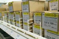 Spanplattenschrauben Teilgewinde gelb und blau verzinkt